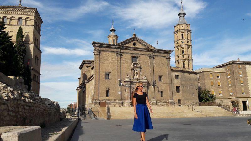Námestie Plaza del Pilar, Zaragoza, Španielsko