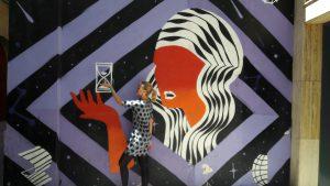 Graffiti v štvrti San Pablo v Zaragoze