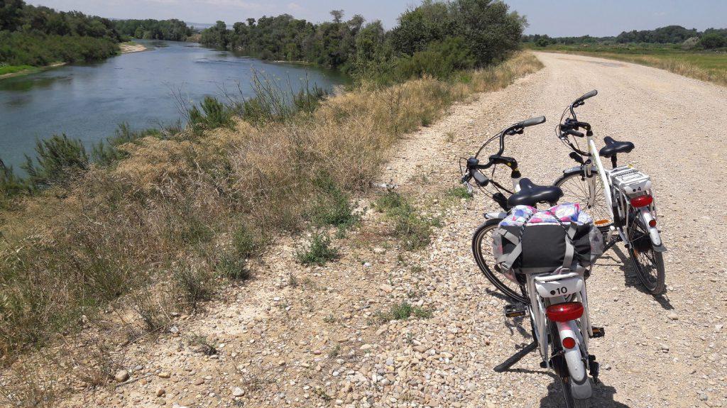 Cyklistická trasa Camino de Juslibol za Zaragozou