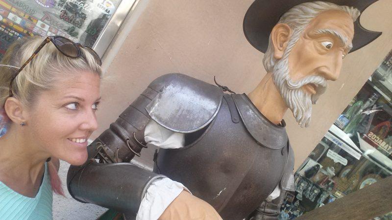 Figúra Don Quijote de la Mancha vo Valladolide