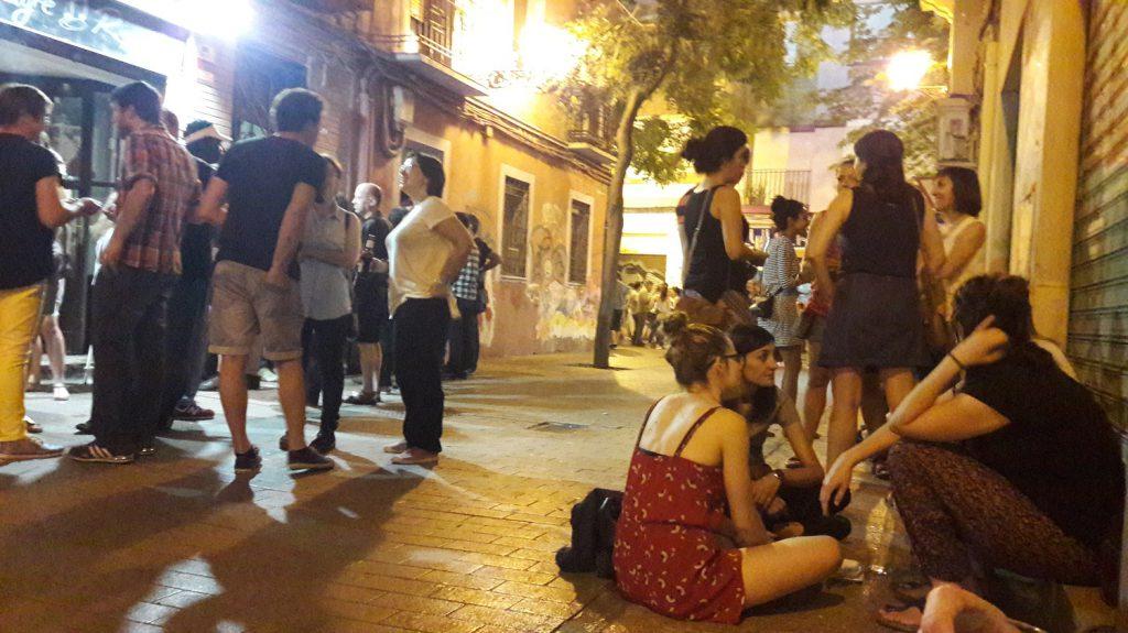 Juepincho v štvrti Tubo v Zaragoze