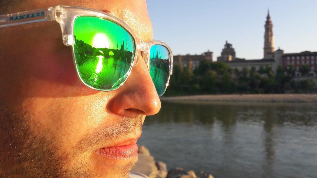 Pohľad na Baziliku El Pilar pri rieke Ebro