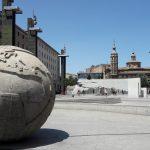 námestie plaza del pilar, zaragoza