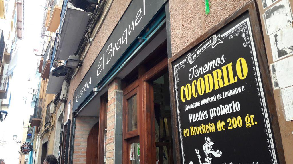 Tapas v bare El Broquel