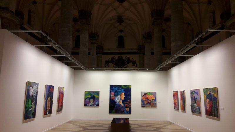 Výstava maliara Natalio Bayo v Zaragoze