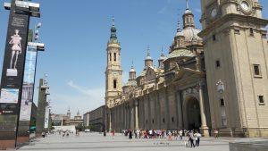 Basílica de Nuestra señora del Pilar, Zaragoza, Španielsko