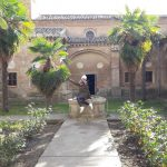 Nádvorie kláštora Cartuja de Aula Dei pri Zaragoze