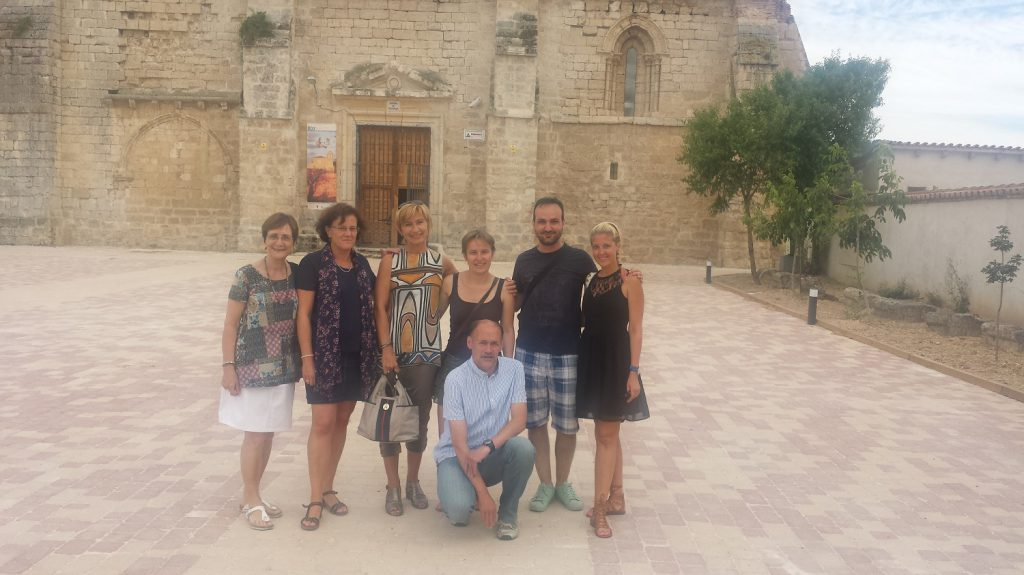 Návšteva kláštora mimo mesta Valladolid
