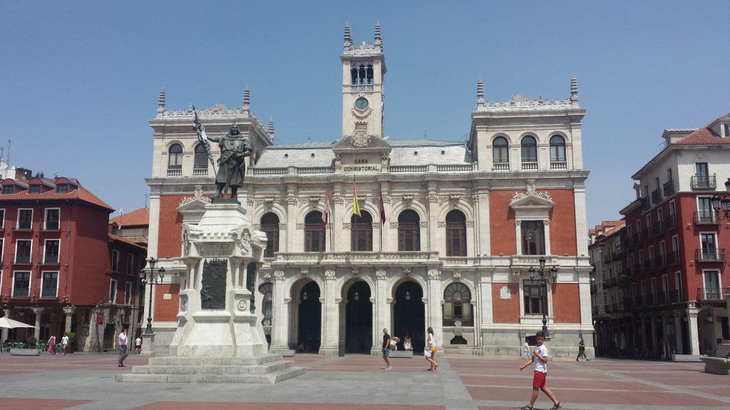 Radnica na hlavnom námestí vo Valladolide