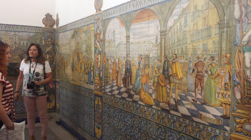 Prehliadka paláca Palacio de Pimentel