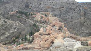 Kamenné mesto Albarracín, Španielsko