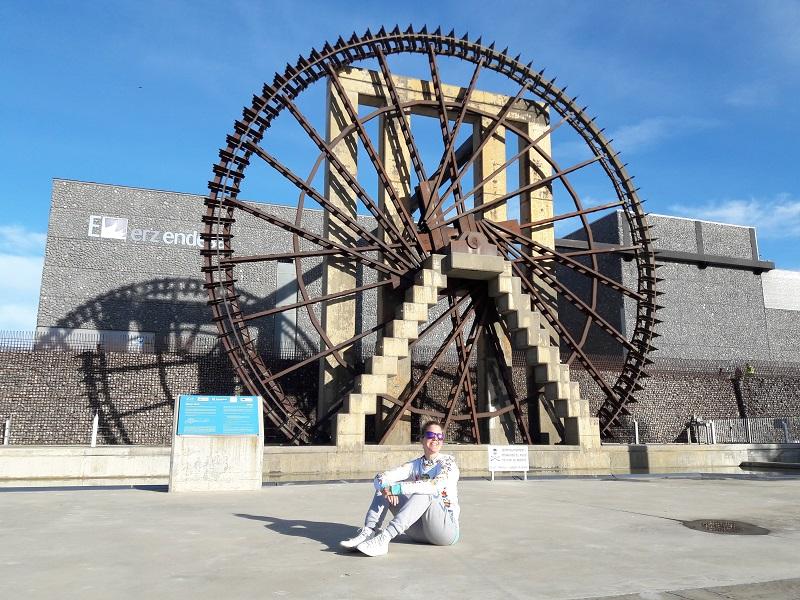 Areál Expo 2008 v Zaragoze, Parque de Agua a nefunkčný vodný mlyn