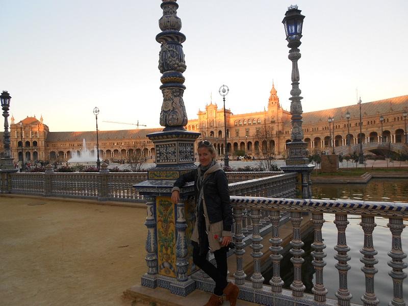 Námestie Plaza de España, Sevilla