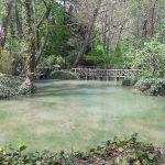 Jazero Lago de los Patos, Monasterio de Piedra