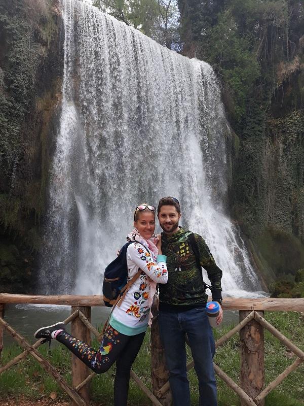 Vodopád Cascada La Caprichosa