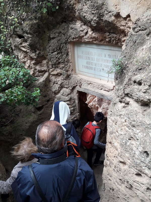 jaskyňa monasterio de piedra