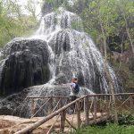 Vodopád v Monasterio de Piedra, Španielsko