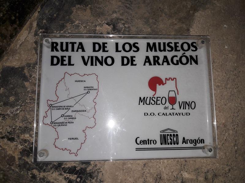 vínna cesta aragónsko