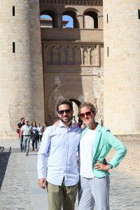 Rekonštrukčné práce palác Aljafería