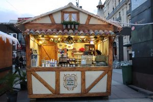 Vianočné trhy Zaragoza Gofres