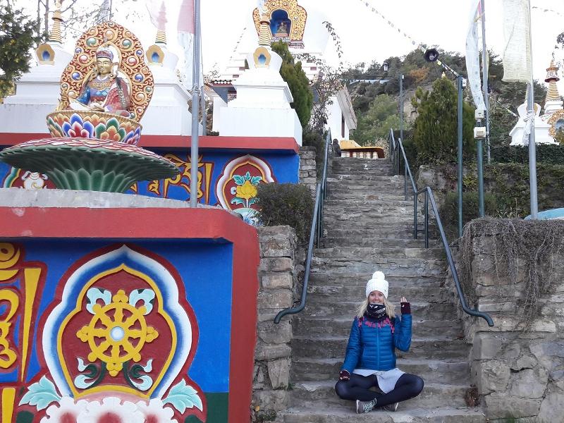Budhisticky chram Spanielsko