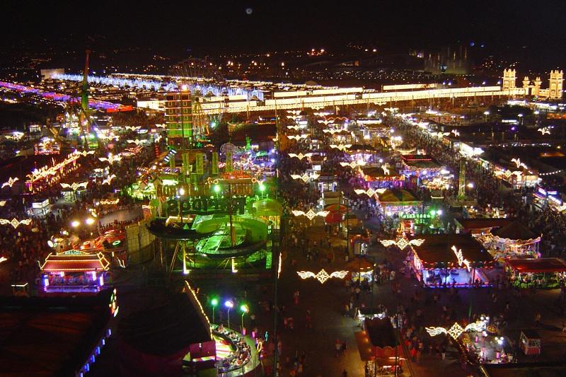La Feria de Malaga Španielsko