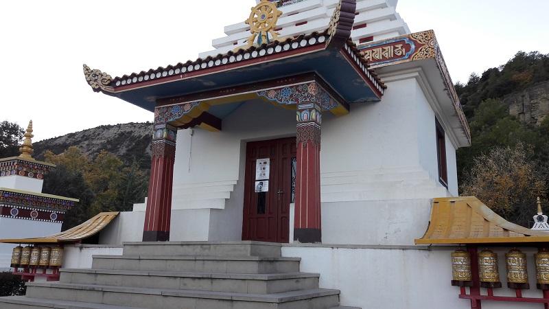 Modlitebna Budhisticky chram Spanielsko