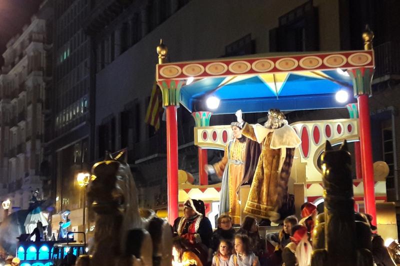 Prichod Troch Kralov Zaragoza