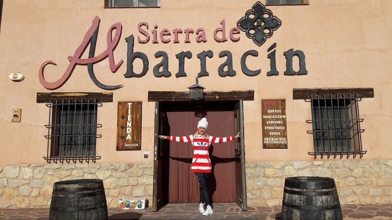 Albarracín tienda quesos Španielsko