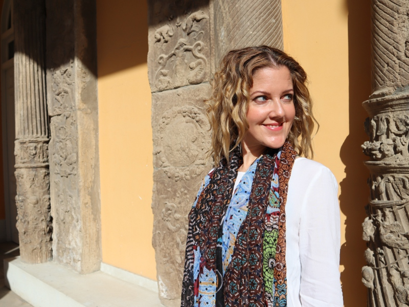 Andreita Miklas v Španielsku