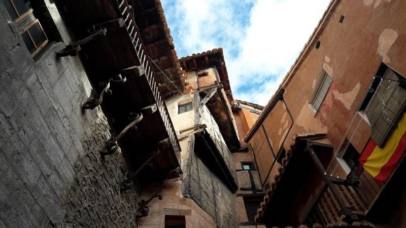 Architektura domov v Albarracine