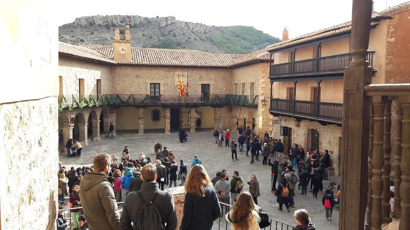 Hlavne namestie Albarracin