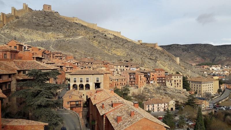 Hradby okolo Albarracinu