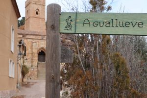 Aguallueve, Španielsko