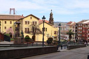 Eskalátor Puente Colgante Bilbao