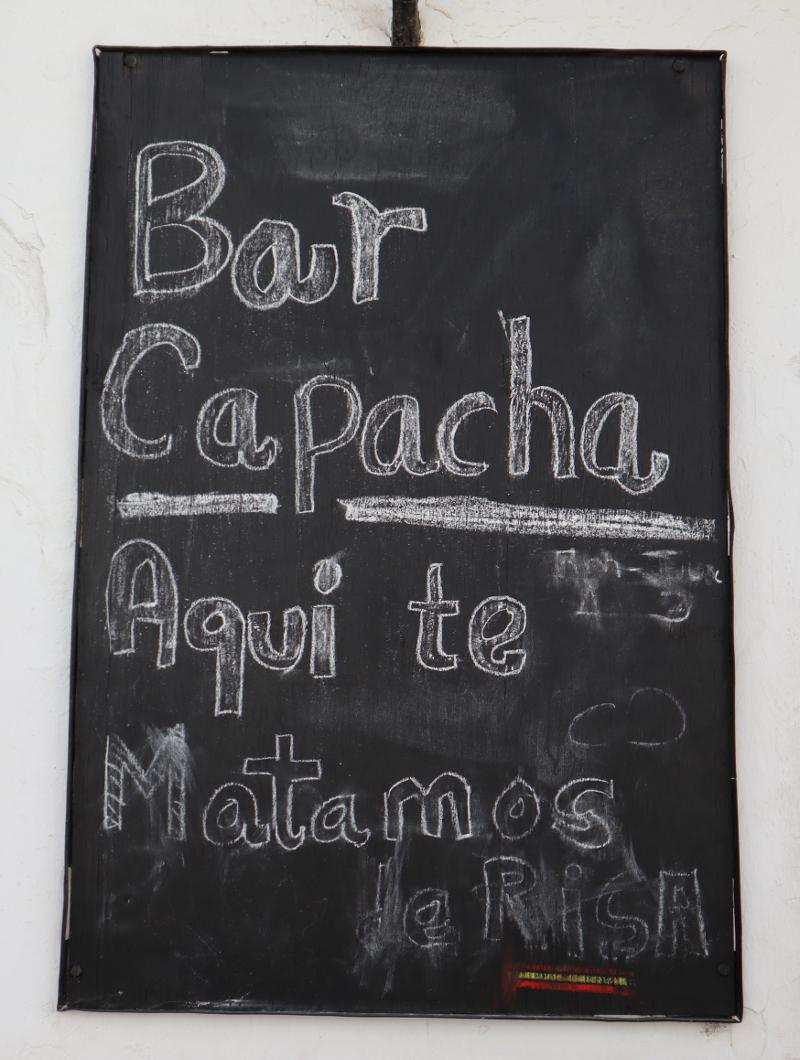 Rozlucenie Bar Medina Sidonia Spanielsko