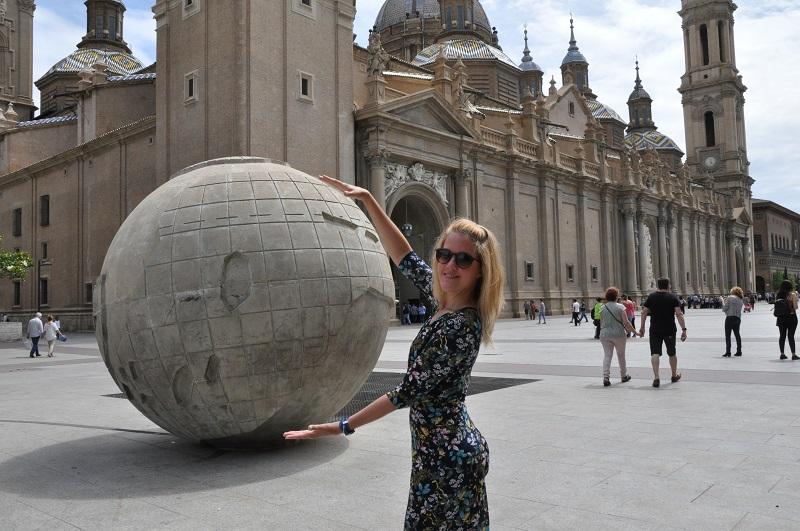Spanielcina na dovolenku Zaragoza Spanielsko