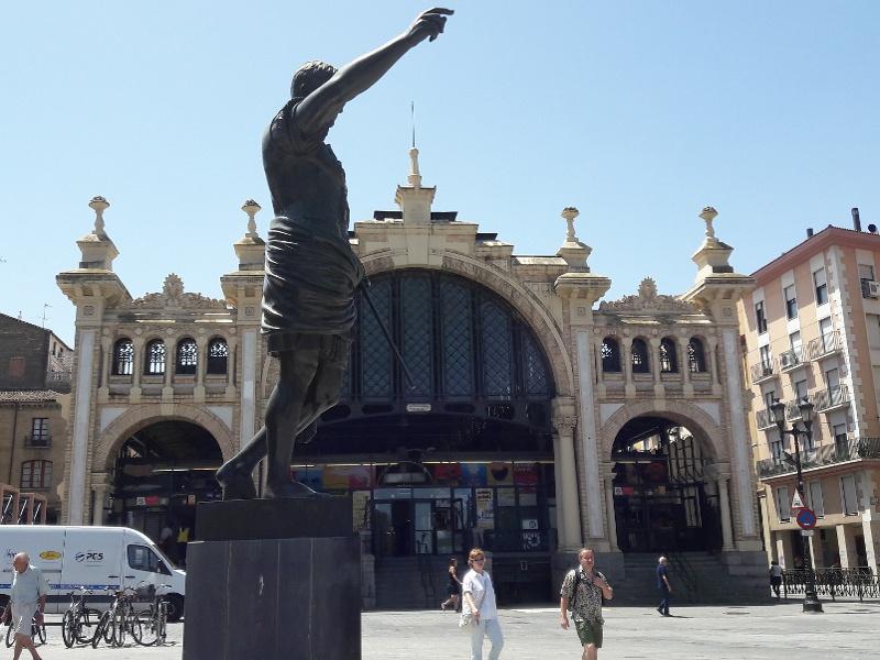 Spanielsko trochu inak Mercado Central Zaragoza Spanielsko