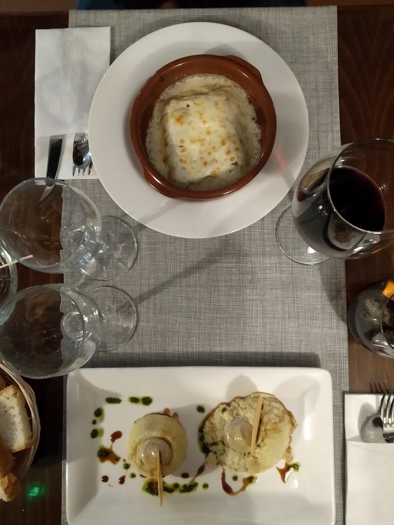Boltana Casa Coronel v Pyrenajach 1. chod