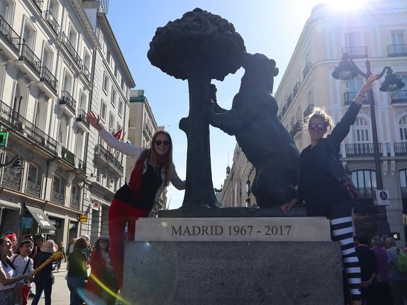 Vikendovy vylet v Madride