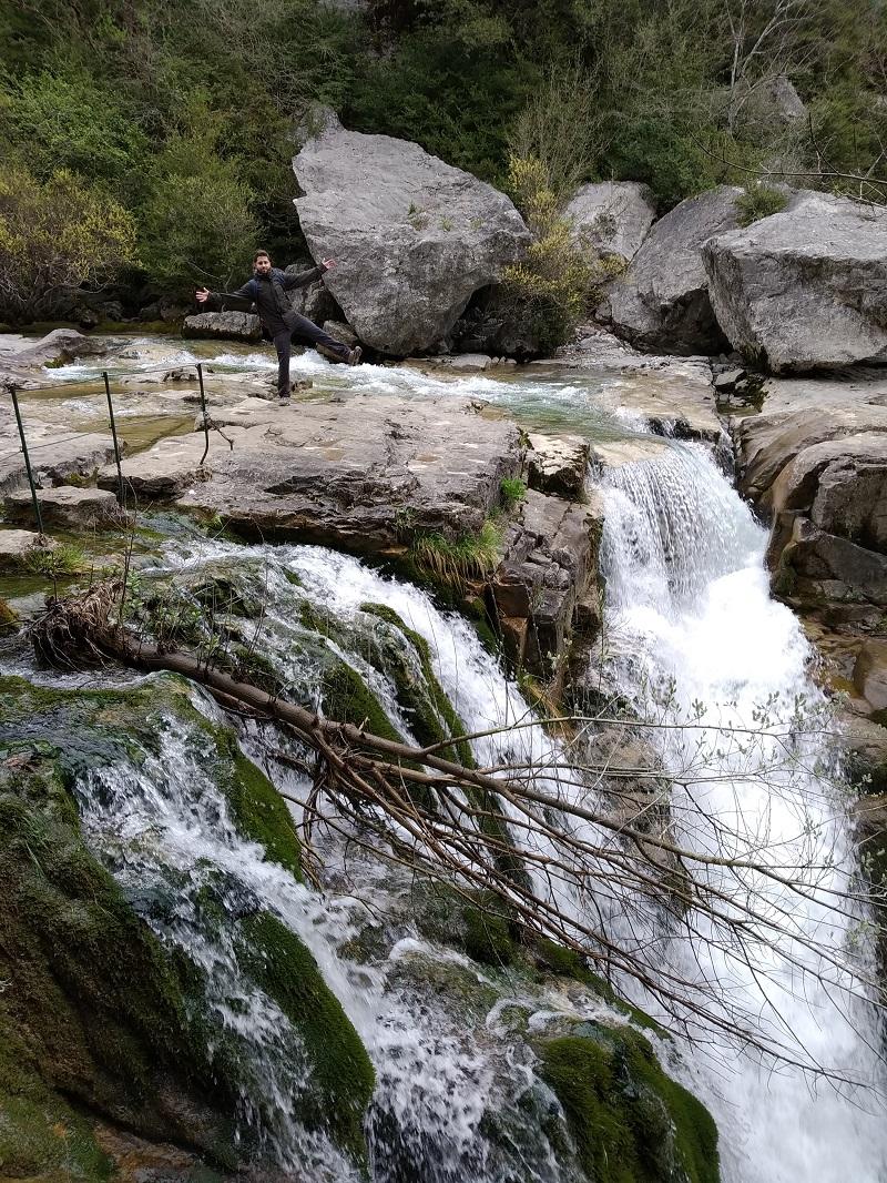 Vodopady Canon de Anisclo