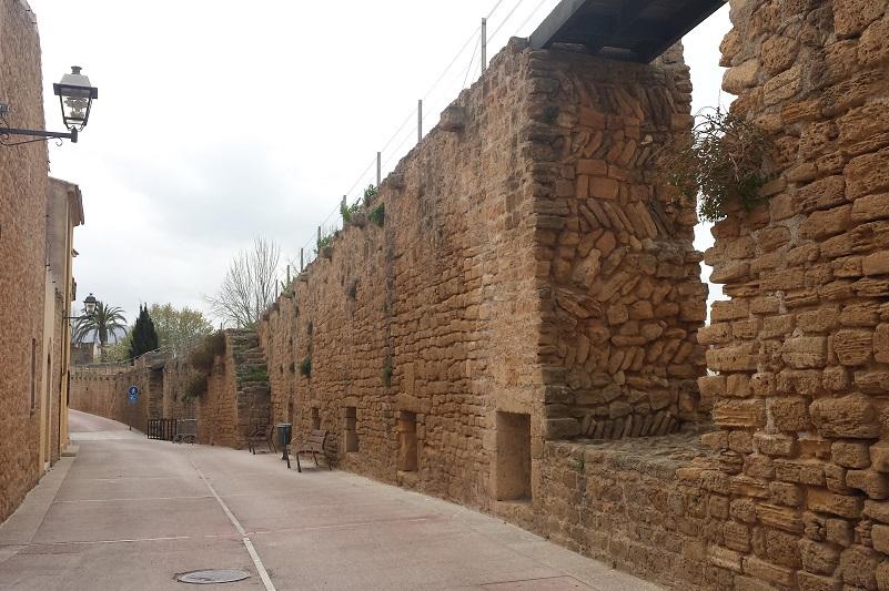 Hradby mesta Alcúdia Malorka