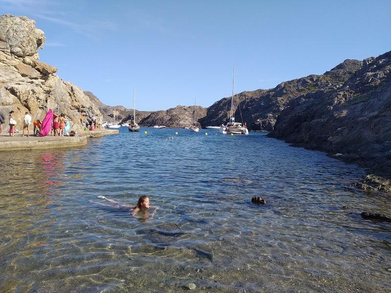 Cista voda Cala Culip Costa Brava