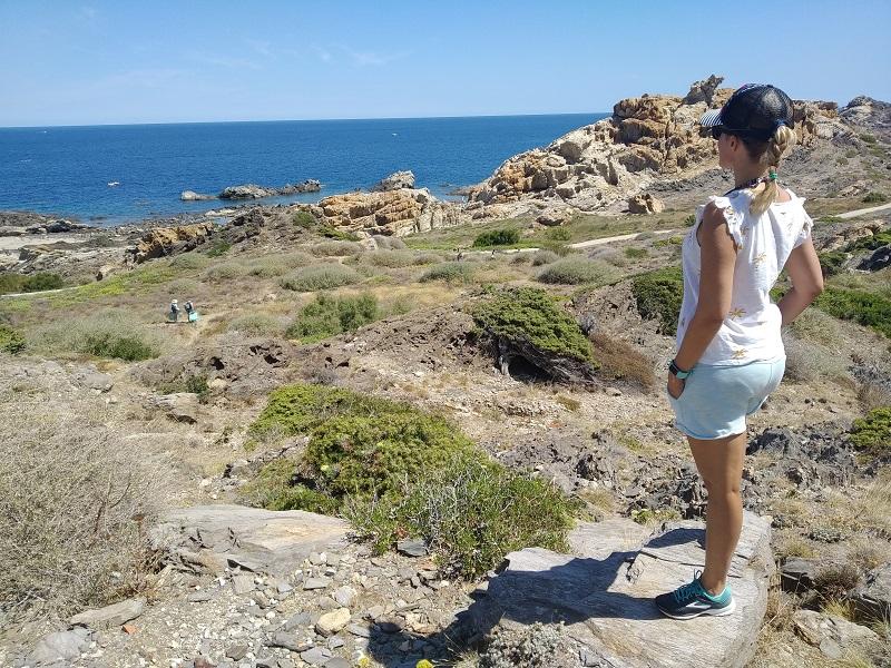 Vyhlad na Stredozemne more Cap de Creus