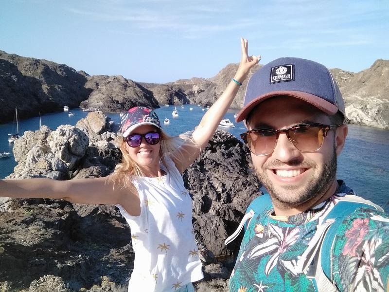 Vyhlad na celu zatoku Cala Culip