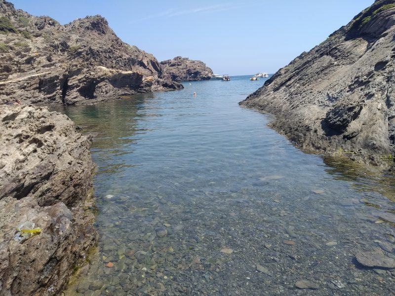Zatoka Cala Fredosa Costa Brava