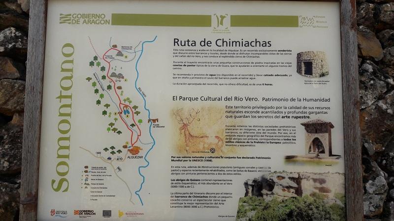 Turistika v Aragonsku Abrigo de Quizans
