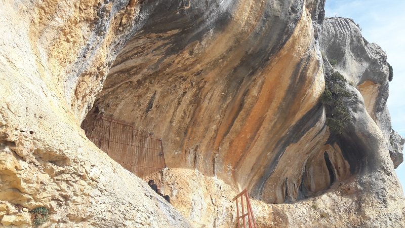 prehistoricke malby Abrigo de Quizans