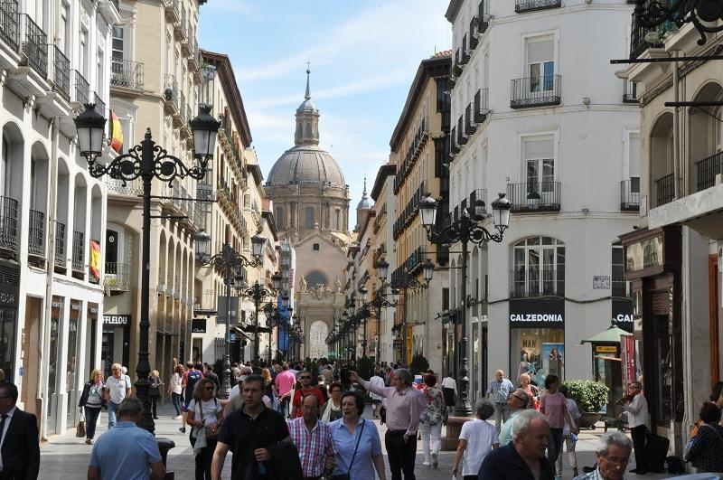 Calle Alfonso I. Zaragoza