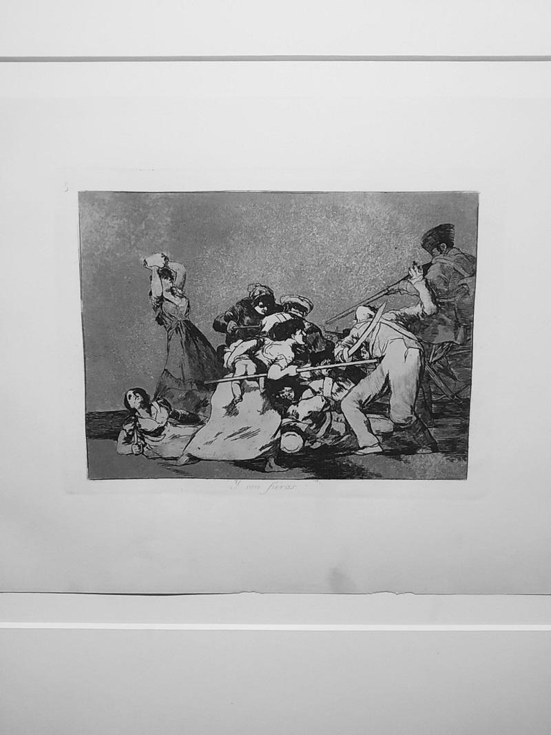 Goya grafika Y son fueras Su ako dive zvierata Fuendetodos